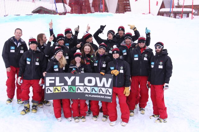 These are the people who inspire me to ski like a bad ass. And they all make me smile and feel loved.